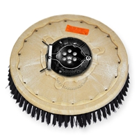 "18"" Poly scrubbing brush assembly fits Factory Cat / Tomcat model 38, 40, 40HD, 3700"