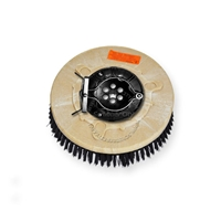"12"" Poly scrubbing brush assembly fits Factory Cat / Tomcat model MINI MAG 26"