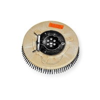 "10"" Steel wire scrubbing brush assembly fits Factory Cat / Tomcat model 21, 2100"