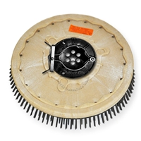 "18"" Steel wire scrubbing brush assembly fits Factory Cat / Tomcat model 550D"