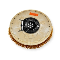 "14"" MAL-GRIT XTRA GRIT (46) scrubbing brush assembly fits Factory Cat / Tomcat model 29 (8 Point Plate - )"