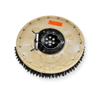 "14"" MAL-GRIT (80) scrubbing and stripping brush assembly fits Factory Cat / Tomcat model 29 (8 Point Plate - )"