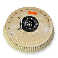"21"" White Tampico brush assembly fits Factory Cat / Tomcat model 23"