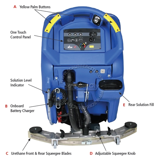 Floor Scrubber Machine Parts Home Plan