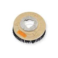 "11"" Nylon scrubbing brush assembly fits WHITE / PULLMAN-HOLT model M-13-1/2"