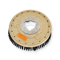 "13"" Nylon scrubbing brush assembly fits GENERAL (FLOORCRAFT) model GF-15"