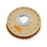 "13"" MAL-GRIT XTRA GRIT (46) scrubbing brush assembly fits WHITE / PULLMAN-HOLT model M-15-1/2"