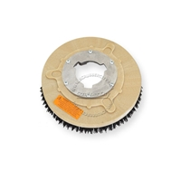 "10"" MAL-GRIT (80) scrubbing and stripping brush assembly fits GENERAL (FLOORCRAFT) model S-11"