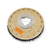 "13"" MAL-GRIT (80) scrubbing and stripping brush assembly fits WHITE / PULLMAN-HOLT model M-15-1/2"