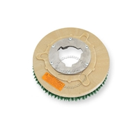 "10"" MAL-GRIT SCRUB GRIT (120) scrubbing brush assembly fits GENERAL (FLOORCRAFT) model S-11"