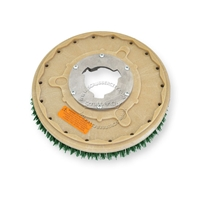 "13"" MAL-GRIT SCRUB GRIT (120) scrubbing brush assembly fits GENERAL (FLOORCRAFT) model GF-15"