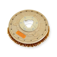 "13"" MAL-GRIT XTRA GRIT (46) scrubbing brush assembly fits HILD model L-15"