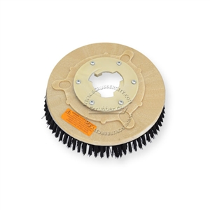 "10"" Poly scrubbing brush assembly fits NILFISK-ADVANCE model Speedboy Special 12"