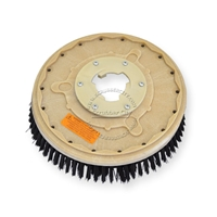 "14"" Poly scrubbing brush assembly fits HILLYARD model Standard Single 16"