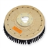 "18"" Poly scrubbing brush assembly fits NILFISK-ADVANCE model Whirlamatic-200E"