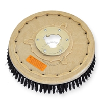 "18"" Poly scrubbing brush assembly fits HILLYARD model Standard Single 20"