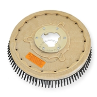 "18"" Steel wire scrubbing brush assembly fits HILLYARD model Standard Single 20"