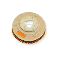 "12"" MAL-GRIT XTRA GRIT (46) scrubbing brush assembly fits HILLYARD model Deluxe Single 14"