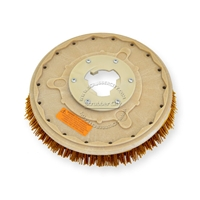 "14"" MAL-GRIT XTRA GRIT (46) scrubbing brush assembly fits HILLYARD model Standard Single 16"