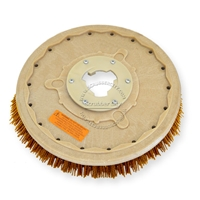 "18"" MAL-GRIT XTRA GRIT (46) scrubbing brush assembly fits HILLYARD model Standard Single 20"