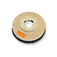 "12"" MAL-GRIT (80) scrubbing and stripping brush assembly fits HILLYARD model Deluxe Single 14"