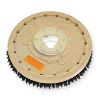 "18"" MAL-GRIT (80) scrubbing and stripping brush assembly fits HILLYARD model Standard Single 20"