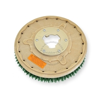 "14"" MAL-GRIT SCRUB GRIT (120) scrubbing brush assembly fits HILLYARD model Standard Single 16"