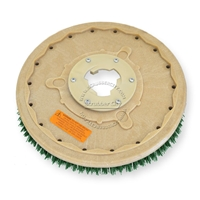 "18"" MAL-GRIT SCRUB GRIT (120) scrubbing brush assembly fits HILLYARD model Standard Single 20"