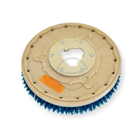 "14"" CLEAN GRIT (180) scrubbing brush assembly fits HILLYARD model Standard Single 16"