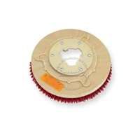 "12"" MAL-GRIT LITE GRIT (500) scrubbing brush assembly fits HILLYARD model Deluxe Single 14"