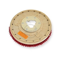 "14"" MAL-GRIT LITE GRIT (500) scrubbing brush assembly fits HILLYARD model Standard Single 16"