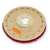 "18"" MAL-GRIT LITE GRIT (500) scrubbing brush assembly fits HILLYARD model Standard Single 20"