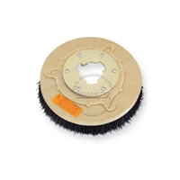 "12"" Bassine brush assembly fits HILLYARD model Deluxe Single 14"