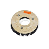 "10"" Poly scrubbing brush assembly fits KENT model KA-20"