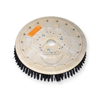 "16"" Poly scrubbing brush assembly fits POWERBOSS model SB/34"