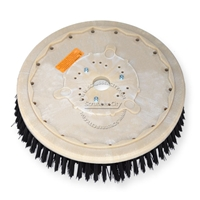 "19"" Poly scrubbing brush assembly fits POWERBOSS model SB/40"