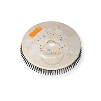 "10"" Steel wire scrubbing brush assembly fits KENT model KA-201BST"