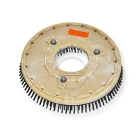 "16"" Steel wire scrubbing brush assembly fits KENT model KA-34BR2 Rider"