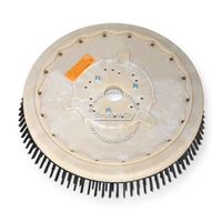"19"" Steel wire scrubbing brush assembly fits POWERBOSS model SB/40"