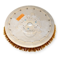 "19"" MAL-GRIT XTRA GRIT (46) scrubbing brush assembly fits POWERBOSS model SB/40"