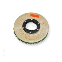 "11"" MAL-GRIT SCRUB GRIT (120) scrubbing brush assembly fits NILFISK-ADVANCE model Adfinity 24"