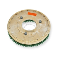 "16"" MAL-GRIT SCRUB GRIT (120) scrubbing brush assembly fits KENT model KA-34BR2 Rider"