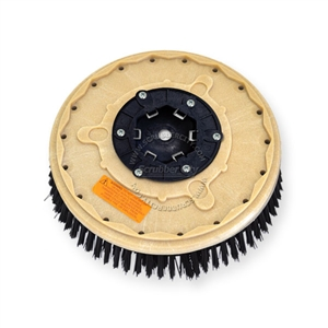 "13"" Nylon scrubbing brush assembly fits MINUTEMAN (Hako / Multi-Clean) model 260-B, 265-B"