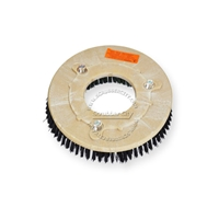 "12"" Nylon scrubbing brush assembly fits Tennant model 5520"