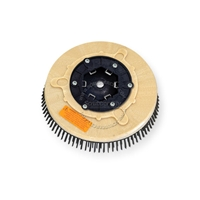 "12"" Steel wire scrubbing brush assembly fits MINUTEMAN (Hako / Multi-Clean) model 240X"