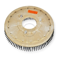 "19"" Steel wire scrubbing brush assembly fits NOBLES model 5300, SS-5300"
