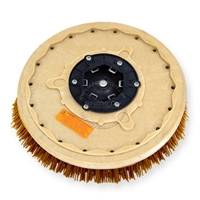 "19"" MAL-GRIT XTRA GRIT (46) scrubbing brush assembly fits MINUTEMAN (Hako / Multi-Clean) model 38-B"