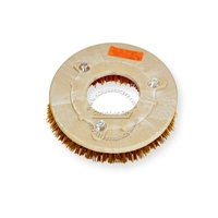 "11"" MAL-GRIT XTRA GRIT (46) scrubbing brush assembly fits VIPER model 24"" Twin Disc Fang"