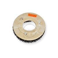 "11"" MAL-GRIT (80) scrubbing and stripping brush assembly fits NILFISK-ADVANCE model Whirlamatic-240B, E"