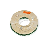 "10"" MAL-GRIT SCRUB GRIT (120) scrubbing brush assembly fits MINUTEMAN (Hako / Multi-Clean) model SBR-50"